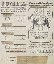 Image of Jumble - that scrambled word game - Arnold, Henri, 1918-