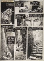 "Image of [Pages 31 and 32 of the ""The horror from the red tower"" story from 'The savage sword of Conan' Vol 1 # 21] - Buscema, John, 1927-2002"