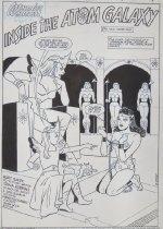 Image of 'Inside the atom galaxy'. [The legend of Wonder Woman #3] - Robbins, Trina, 1938-