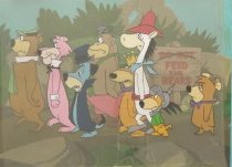 Image of [8 Hanna Barbera characters] - Unknown