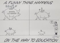 Image of A FUNNY THING HAPPENS ON THE WAY TO EDUCATION - Frost, John William
