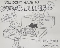 Image of You Don't Have to Suffer, Duffer - Frost, John William