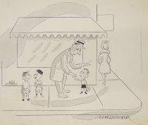Image of He has a wonderful way with adults - MacDonald, James Stanley, 1908-1984