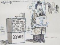 Image of Accuse me of sumthing! - Handelsman, Walt, 1956-