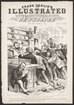 Image of Distribution of Prize-Loaves at the National Bakery - Keppler, Joseph Ferdinand, 1838-1894