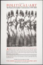 Image of AIGA Political*Art:  Ten Years of Graphic Commentary - Holland, Brad, 1943-
