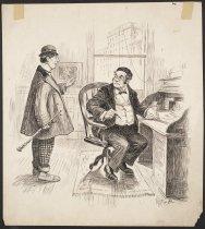 Image of [office scene] - Gallaway, Walter, 1870-1991