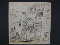 "Image of ""The ladders are for the tourist trade. We use the elevator."" - Klein, Isadore, 1897-1986"