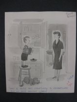 """Image of """"May I seize this opportunity to congratulate you on some delicious cookies!"""" - Beaven, Frank, 1907-1975"""
