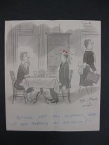 """Image of """"Better not say anything dear...it was probably an accident!"""" - Beaven, Frank, 1907-1975"""