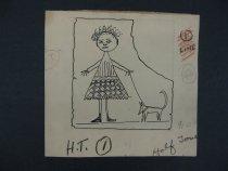 Image of [Girl and dog] - McManus, George, 1884-1954