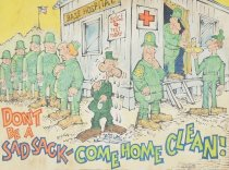 Image of Don't be a Sad Sack - come home clean! - Baker, George, 1915-1975