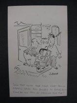 "Image of ""Now that you've made enough money feeding eastern states pork..."" - Bishop, John"