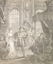 Image of King Henry the Eigth, & Anna Bullen. - Hogarth, William, 1697-1764