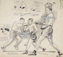Image of 10 round non-title bout. Championship fight - Mullin, Willard, 1902-1978