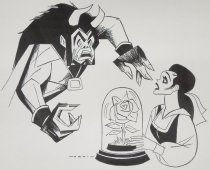 Image of Beauty and the Beast - Norkin, Sam, 1917-2011