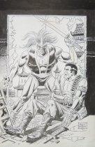Image of [Cover artwork for Bloodshot #11] - Perlin, Don, 1929?-