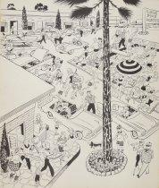 Image of America's summer. Five o'clock at the motel - Morris, John Milton, 1907-1994