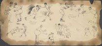 Image of [a) Boxing match between Packey McFarland and Matt Wells b) Fred Fulton's boxing techniques] - Edgren, Robert W., 1874-1939