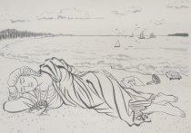 Image of [Statue of Liberty lying down asleep] - Sugiura, Hinako, 1958-2005