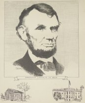 Image of Abraham Lincoln in 1864 - Barstow, Jim