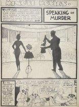 Image of Minute movies. Speaking of murder. - Wheelan, Ed, 1886-1966