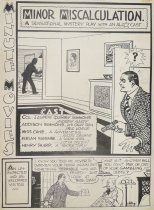 Image of Minute movies. Minor miscalculation. A sensational mystery play with an all [star] cast. - Wheelan, Ed, 1886-1966