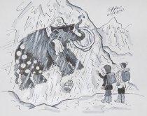 """Image of """"That's got to be our final proof, Jenkins - the Ice Age came about pretty unexpectedly!"""" - Williams, Kipper"""