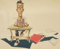 Image of [Frank Roberge self portrait] - Roberge, Frank, 1916-1976?