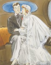 "Image of ""Darling, what are you going to give me on our silver anniversary?"" - Campbell, Elmer Simms, 1906-1971"