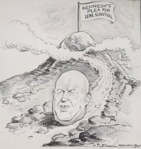 Image of One big boulder blocking the path to peace - Berryman, James, 1902-1976