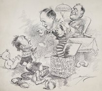 Image of Harry Hopkins. New Deal sweets. Merry Christmas. - Berryman, Clifford, 1869-1949