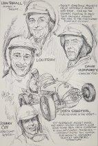 Image of Len Thrall... Lou Fray. Dave Humphrey...Dutch Shaefer...Johnny Coy.... - Bissell, Phillip, 1926-2000