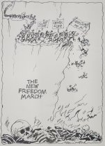 Image of The new freedom march - Sutch, Max