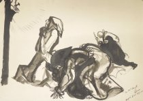 Image of [Adorers at the foot of the cross] - Lebrun, Frederico, 1900-1964