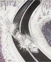 Image of [Car collision] - Mortimer, James Winslow, 1919-1998