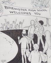 Image of Brewster high school welcomes you - Mortimer, James Winslow, 1919-1998