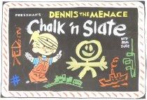 Image of [Artwork for Pressman's Dennis the Menace chalk 'n slate box] - Ketcham, Hank, 1920-2001