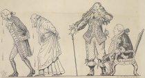Image of Ananias and Munchausen overcome - Walker, Alanson Burton, 1878-1947