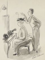 """Image of """"Of course, it shouldn't be taken too seriously."""" - Hokinson, Helen Elna, 1893?-1949"""