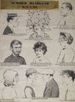 Image of Summer headgear - Hill, William Ely, 1887-1962