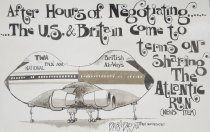 Image of After hours of negotiating...........The U.S. &  Britain come to terms on sharing the atlantic run (news item) - Basset, Brian, 1957-