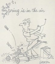 Image of Spring is in the air - Gustafson, Bob, 1920-