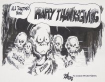 """Image of """"All together now. Happy Thanksgiving"""" - Rogers, Ron"""