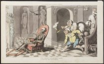 Image of The porter's chair - Rowlandson, Thomas, 1756-1827