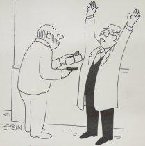 """Image of """"Where's the regular mugger?"""" - Stein, Eli"""