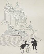 "Image of ""I'm wiring my Congressman!"" - Brown, Bo, 1906-1996"