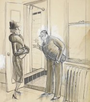 "Image of ""And you'll enjoy our needle showers, Ma'am - I always do"" - Shermund, Barbara, 1899-1978"