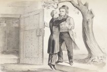 """Image of Jeff D_ Hung on a """"Sour Apple Tree,"""" or Treason made odious - Currier & Ives"""