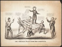Image of The Chicago Platform and Candidate - Maurer, Louis, 1832-1932
